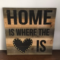 Home is where the heart is...