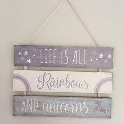 Life is all rainbows and...