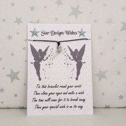 Wish Bracelet - Star Wand