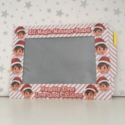 Elf on the shelf message board