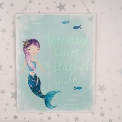 Mermaid kisses & starfish...