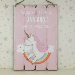 Happier than a unicorn on a...