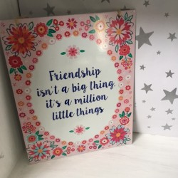 Frendship Sign
