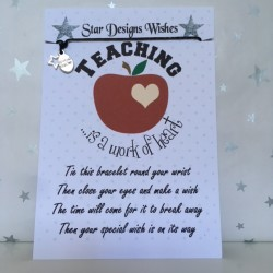 Wish Bracelet - Teaching is...