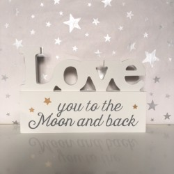 LOVE you to the moon and...