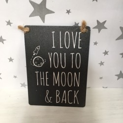 I love you to the moon &...