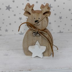 Chunky Reindeer decoration