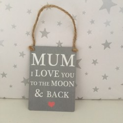 Mum I love you to the moon...