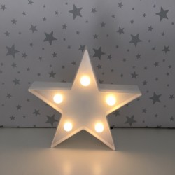 White star LED