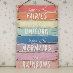 Wooden Fairies, unicorns,...